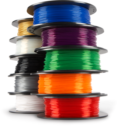 Filaments can come in many different colours.